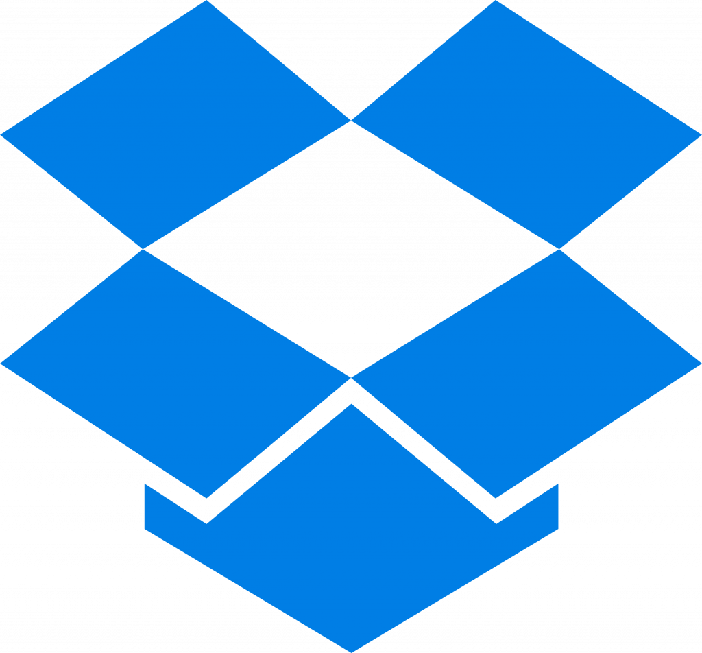 dropbox 2 logo png transparent